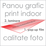 print pop-up panou grafic